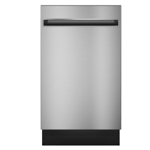 "Haier ApplianceHaier 18"" Stainless Steel Interior Dishwasher with Sanitize Cycle"