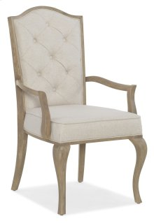Dining Room Modern Romance Upholstered Arm Chair