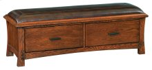 DAO 2-Drawer Prairie City Bench