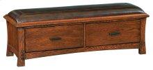 DAO 2-Drawer Prairie City Bench