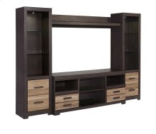 Harlinton - Two-tone 4 Piece Entertainment Set