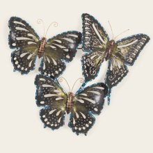 Metal Butterfly Wall Hanging