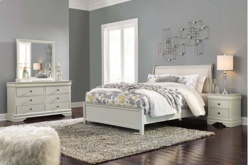 Jorstad - Gray 2 Piece Bed Set (Queen)