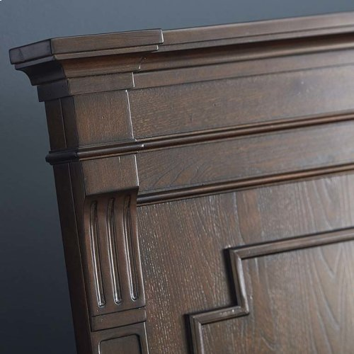 Cal King/Provence Espresso Provence Panel Bed