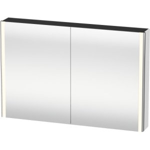 Mirror Cabinet, White Matt