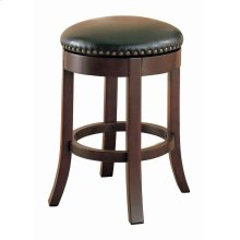 Casual Walnut Counter-height Bar Stool
