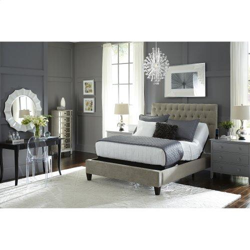 Prodigy 2.0 Adjustable Bed Base with MicroHook Retention System, Black Finish, Split King