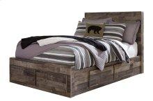 Derekson - Multi Gray 5 Piece Bed Set (Full)