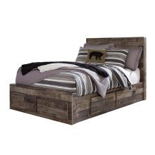 Derekson - Multi Gray 5 Piece Bed Set (Full)