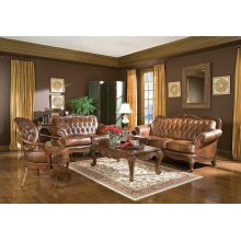 Victoria Traditional Tri-tone Sofa