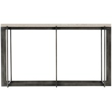Hathaway Metal Console Table