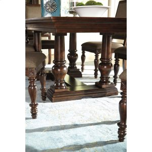 Ashley Millennium Dining Room Table Base Roddinton Dark Brown Collection
