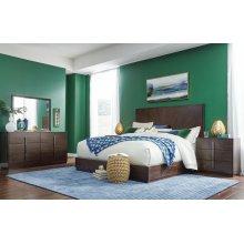 Paldao Panel Bed, CA King 6/0