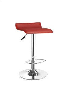 Tolar Red Bar Stool