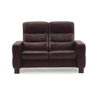 Stressless Wave Loveseat High-back