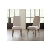 Monteverdi by Rachael Ray Upholstered Host Side Chair Product Image