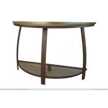 Sofa Table w/1 Iron Shelf