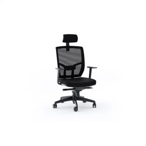 Bdi FurnitureTc 223dhf Office Chair Fabric Seat in Black
