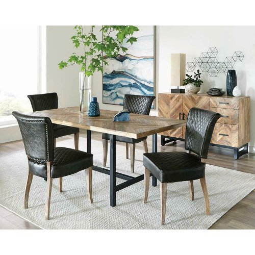 Thompson Industrial Mango Wood Dining Table
