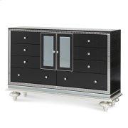 Upholstered Dresser Black Iguana Product Image