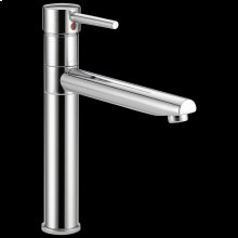 Chrome Single Handle Kitchen Faucet