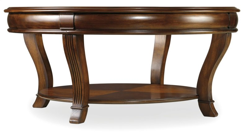 Living Room Brookhaven Round Tail Table