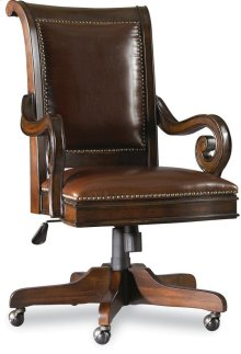 Home Office European Renaissance II Tilt Swivel Chair