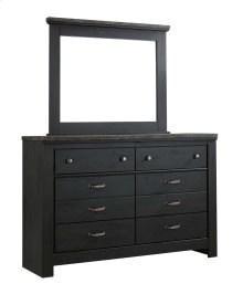 Westinton - Black/Brown 2 Piece Bedroom Set
