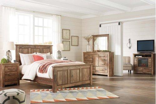 Blaneville - Brown 3 Piece Bed Set (Queen)