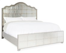Bedroom Arabella 5/0 Mirrored Panel Headboard