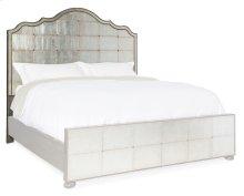 Bedroom Arabella 5/0 Mirrored Panel Headboard