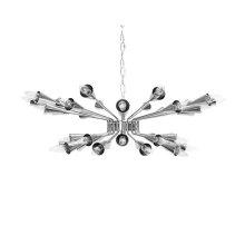 Sputnik Chandelier In Nickel