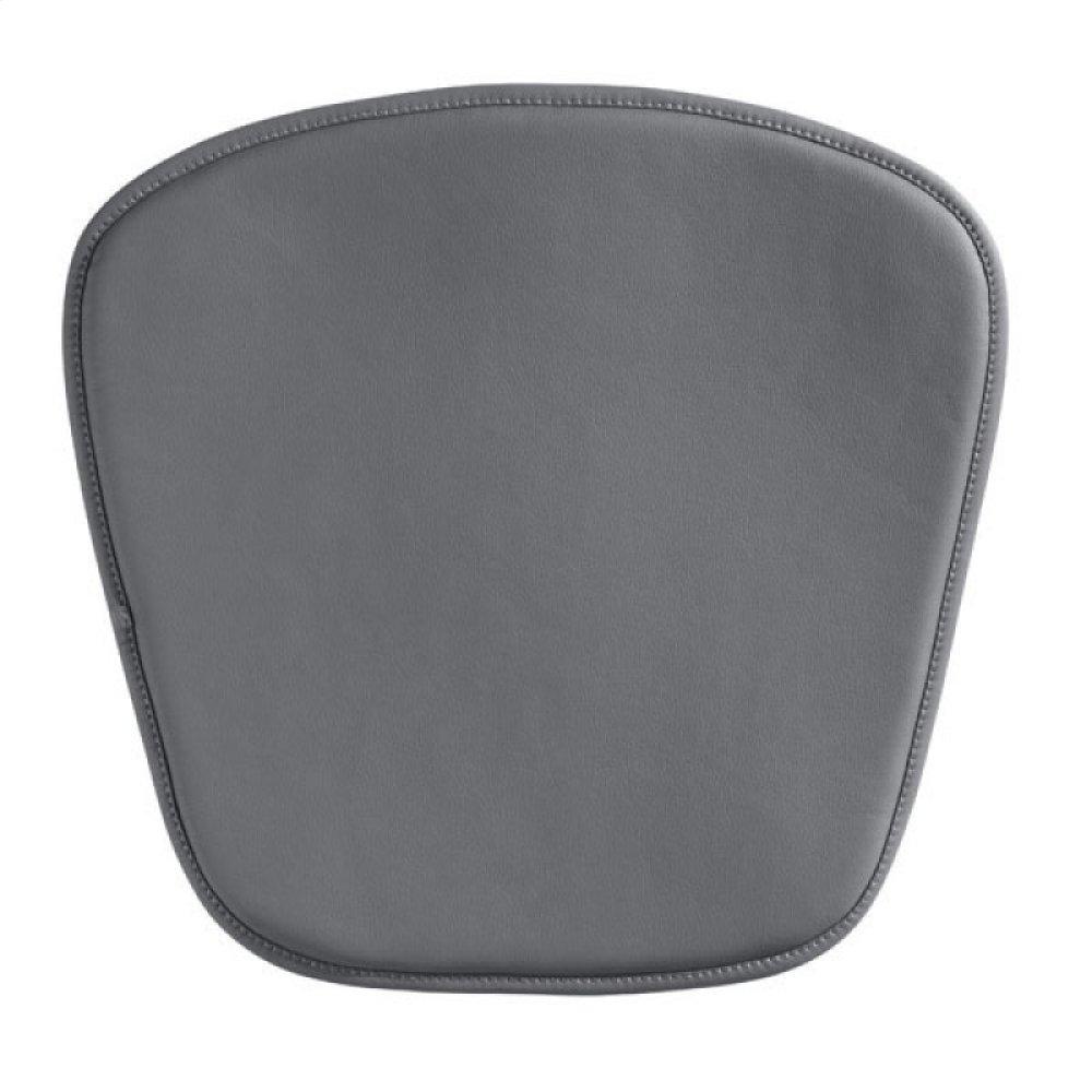 Wire/mesh Chair Cushion Gray