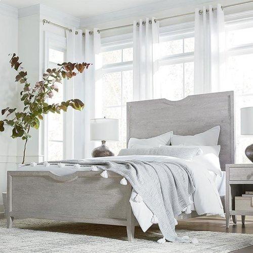 Savoy Cal King Panel Bed