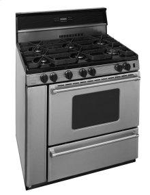 36 in. ProSeries Freestanding Sealed Burner Gas Range in Stainless Steel
