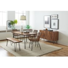 Nature's Edge Dining Chair- Light Chestnut