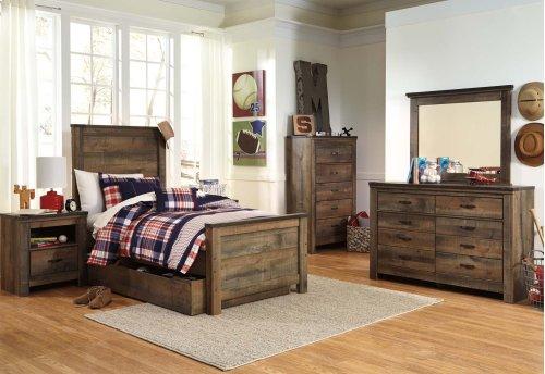Twin Bookcase Bed w/ Storage
