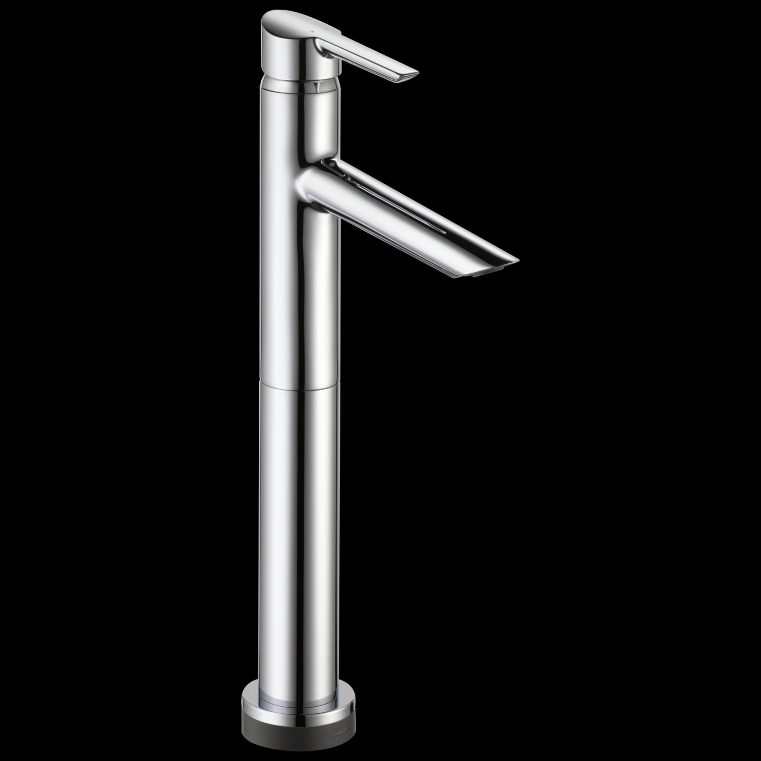 Chrome Single Handle Vessel Bathroom Faucet with Touch 2 O. xt ® Technology