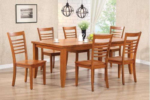 Contemporary Extention Leaf Table