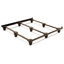Presto Universal Sized Folding Bed Frame with Headboard Brackets, Mahogany