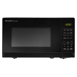 Sharp Appliances0.7 cu. ft. 700W Sharp Black Carousel Countertop Microwave Oven