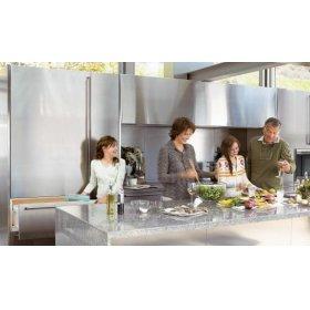 736TR All Refrigerator - Platinum Stainless