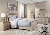 Catalina - Antique White 5 Piece Bedroom Set