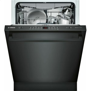 Bosch100 Series Dishwasher 24'' Black, XXL SHXM4AY56N