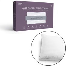 Sleep Plush + Triple Chamber Pillow, Standard / Queen