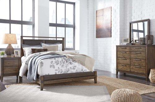 Zilmar - Walnut Brown 2 Piece Bed Set (Queen)