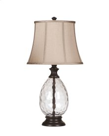 L440234  Glass Table Lamp (2/CN)