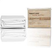 SleepSense 3-Piece White Duvet Cover with Shams, King Product Image