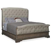 Bedroom Woodlands Queen Upholstered Bed