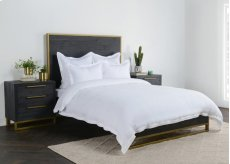 Harlow White King Duvet 108x94 Product Image